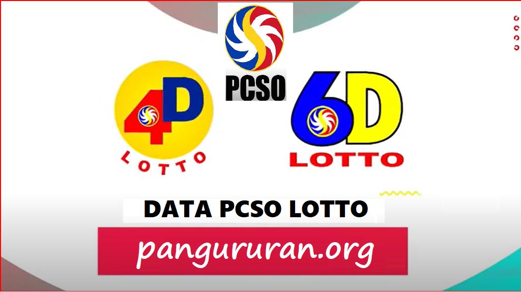 data pcso lotto